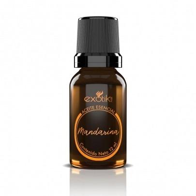 Aceite Esencial de Mandarina de 12ml Marca Exotik Nat