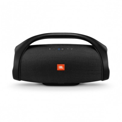 JBL Boombox - Speaker - for portable use - wireless - Bluetooth - 60 Watt - 2-way - black