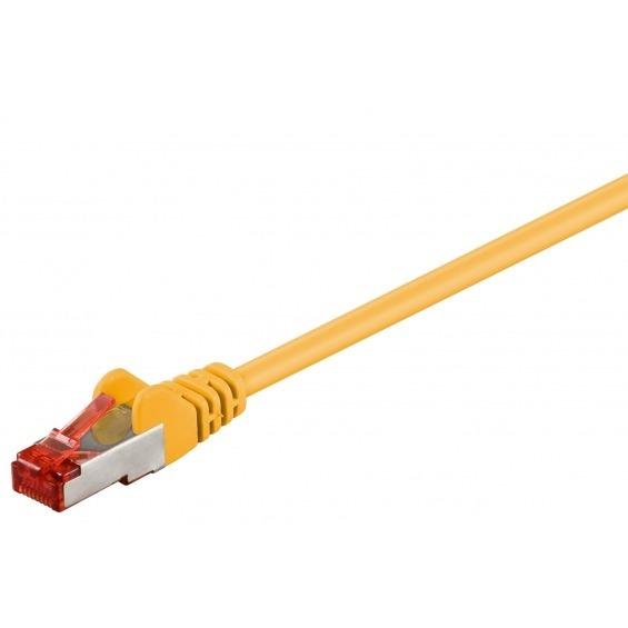 Cable Ethernet FTP CAT6 AMARILLO 10.00m.