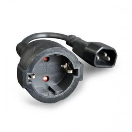Cable Alimentación C14 / schuko 2.00m