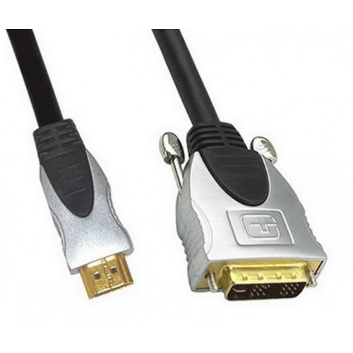 Cable HDMI a DVI(18+1) M/M 20.00metros