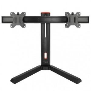 Soporte Gaming para Monitor TooQ DB1402TN-B/ hasta 14 kg