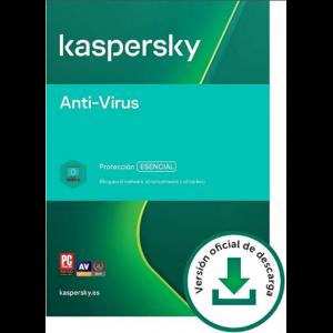 Kaspersky Antivirus: 5 Dispositivos / 1 año