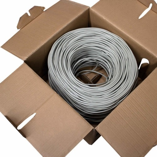 Bobina 305m gris Cable s/FTP CAT6