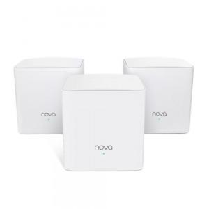 Router Tenda NOVA MW123-PACK      Gigabit Ethernet 3 uds Blanco