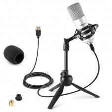 CM300S Micrófono de estudio USB Plata