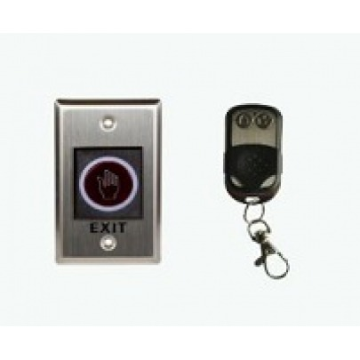 ZKTeco - K2 - Door release button - Non touch Exit Sensor with Remote Key - Range detection 10cm - Support 15 remotes control