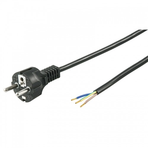 Cable SCHUKO recto de 1.5m a 3 contactos