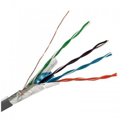 Bobina 305m gris Cable FTP CAT5