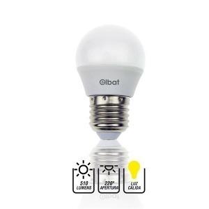 Bombilla LED G45 / 7W / 510LM / E27 / Luz Cálida / ELBAT