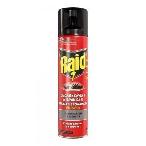 Insecticida Raid Cucarachas Hormigas (400 ml)