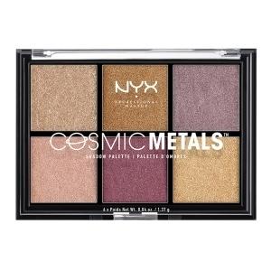 Paleta de Sombras de Ojos Cosmic Metals NYX (6 x 1,37 g)
