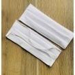 Mascarillas de Algodón en Set de 5 Color Blanco Marca Cantel