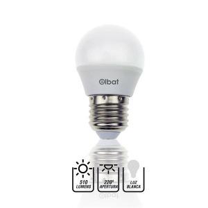 Bombilla LED G45 / 7W / 510LM / E27 / Luz Blanca / ELBAT