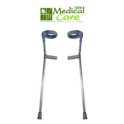 Set de Muletas tipo canadiense MARCA ABM MEDICAL CARE