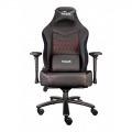 Talius silla Mamut gaming negra/rojo 4D, Frog, base metal, ruedas nylon, hasta 170kg