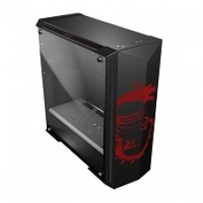 MSI MPG GUNGNIR 100D - Tower - extended ATX - no power supply (ATX) - black, passionate red - USB/Audio