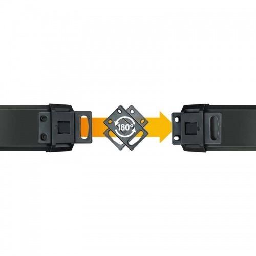 Regleta de 10 tomas de 3,00 metros, 16 A e interruptor de 2 polos en color negro.