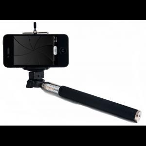 Bastón Selfie Smartphones Negro