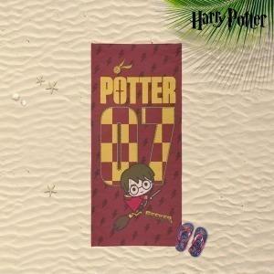 Toalla de Playa Harry Potter Rojo (70 x 140 cm)