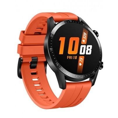 Huawei Watch GT 2 Sport - Smart watch - Bluetooth - Sunset orange - Latona