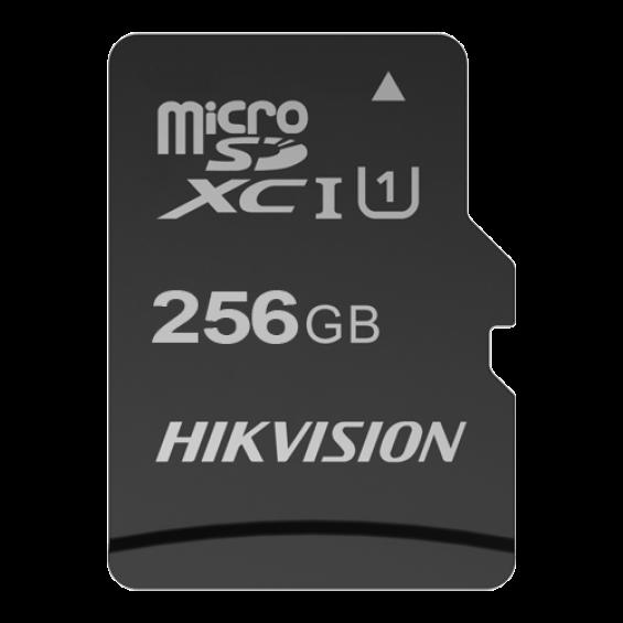 Tarjeta de memoria Hikvision - Capacidad 256 GB - Clase 10 U1 - Hasta 300 ciclos de escritura - FAT32 - Ideal para móviles, tablets, etc