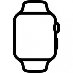 Apple Watch Series 5 GPS 40mm + Cellular Aluminio Plata con Correa Deportiva Blanca