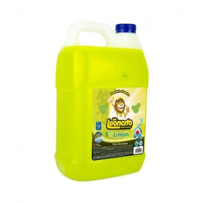 Desinfectante con Aroma a Limón Marca Leoncito 1 Galón