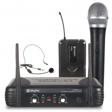 STWM722C micro UHF 2 canales combi div.