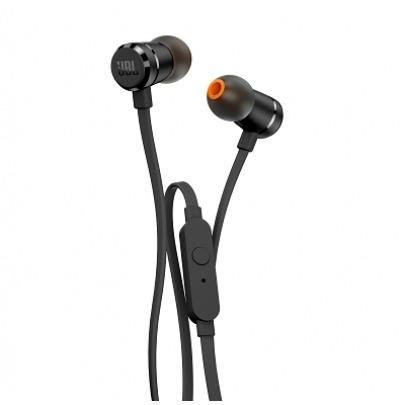JBL T290 - Earphones with mic - in-ear - wired - 3.5 mm jack - black