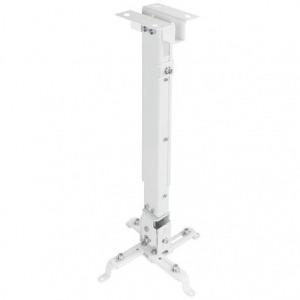 Soporte de Techo para Proyector TooQ PJ2012T-W/ Inclinable/ hasta 20kg
