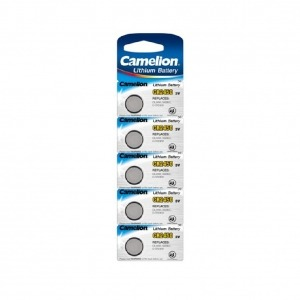 Boton Litio CR2450 3V (5 pcs) Camelion