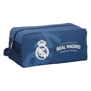 Zapatillero de Viaje Real Madrid C.F. Azul Poliéster