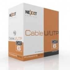 Nexxt Solutions Infrastructure - Bulk cable - UTP - 305 m - RJ-45 a - Gray - Cat6 4P CMR 23AWG