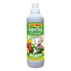 Fertilizante para plantas De Lázaro Super Top Estimulador del crecimiento Estimulador de floración (750 ml)