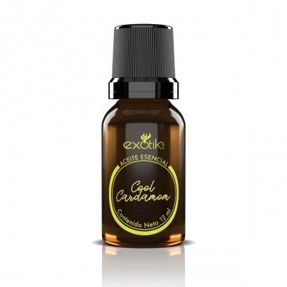 Aceite Esencial de Cardamomo de 12ml Marca Exotik Nat Cool Cardamom