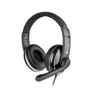 AURICULARES MICRO NGS VOX 800 NEGRO DIADEMA/USB VOX800USB