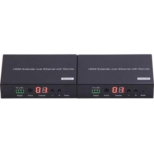 Emisor streaming y extender HDMI IP 1080 rate 15mbps