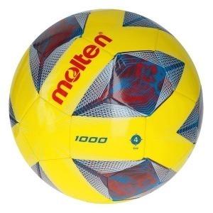 Balón de Fútbol Molten F4A1000 Amarillo TPU (Talla 4)