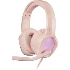 Auriculares Gaming con Micrófono Mars Gaming MH320/ Jack 3.5/ Rosas