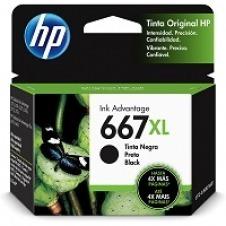 HP - 667XL - Ink cartridge - Black - 3YM81AL