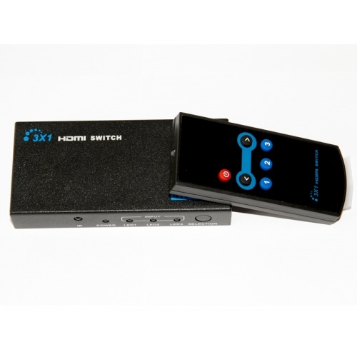 Conmutador / Switcher HDMI 3x1. 4K x 2K