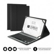 Funda con Teclado Subblim Keytab Pro Bluetooth para Tablets de 10.1