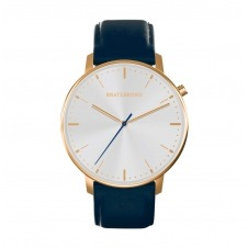 NAVY GOLD SCANAIMA LEATHER 41 MM Ø