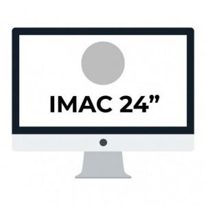 "Apple iMac 24"" Retina 4.5K/ Chip M1 CPU 8 Núcleos/ 8GB/ 256GB/ GPU 8 Núcleos / Plata"