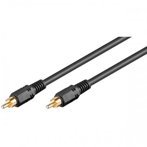 Cable Audio Digital Coaxial (RCA-Macho a Macho) 1m