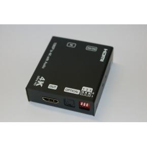 Extractor de Audio y Escalador HDMI 4K