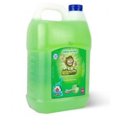 Jabón para manos Leoncito Manzana Verde 3.78lts