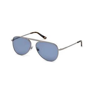 Gafas de Sol Unisex WEB EYEWEAR Azul Plateado (ø 58 mm)