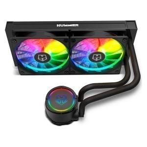 Kit de Refrigeración NOX Hummer RGB Negro